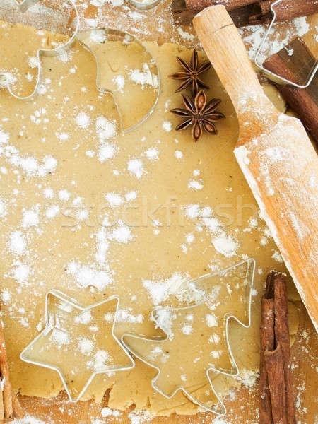 Stock photo: Christmas baking