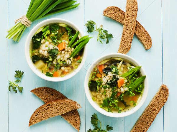 Soup Stock photo © AGfoto