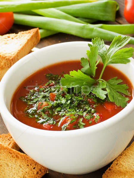 Stock photo: Gazpacho
