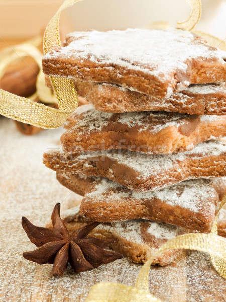Chocolate cookies Stock photo © AGfoto