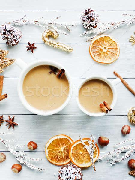 Sweet winter drink Stock photo © AGfoto