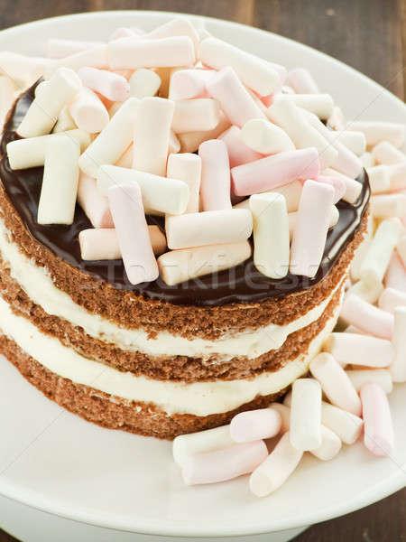 Stock photo: Cake