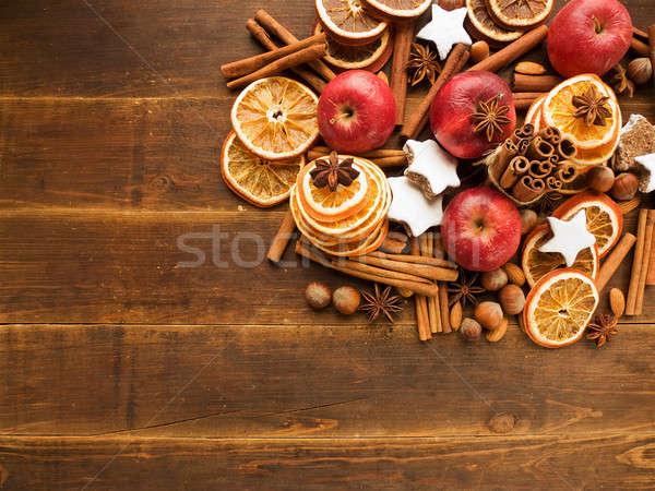 Christmas background Stock photo © AGfoto