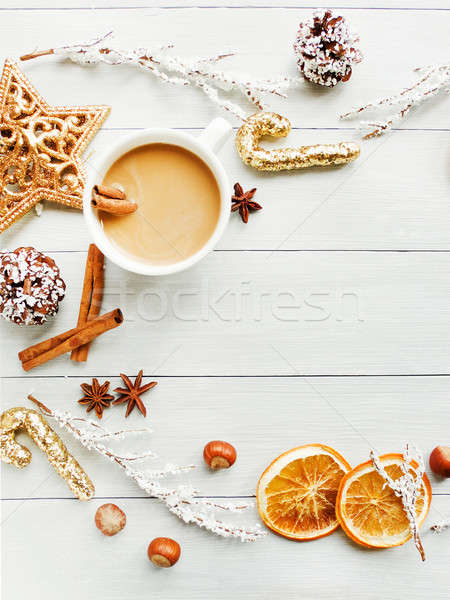 Sweet winter drink Stock photo © AGfoto