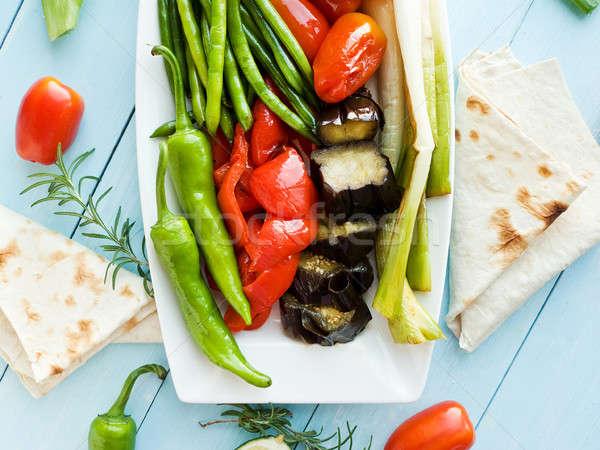 Stir fry veggies Stock photo © AGfoto