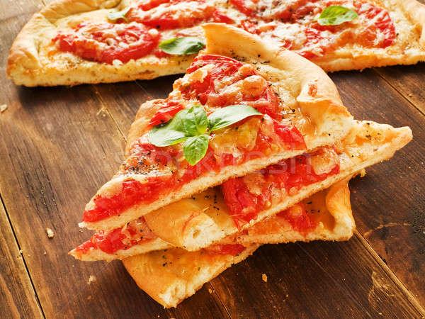 Pizza Stock photo © AGfoto