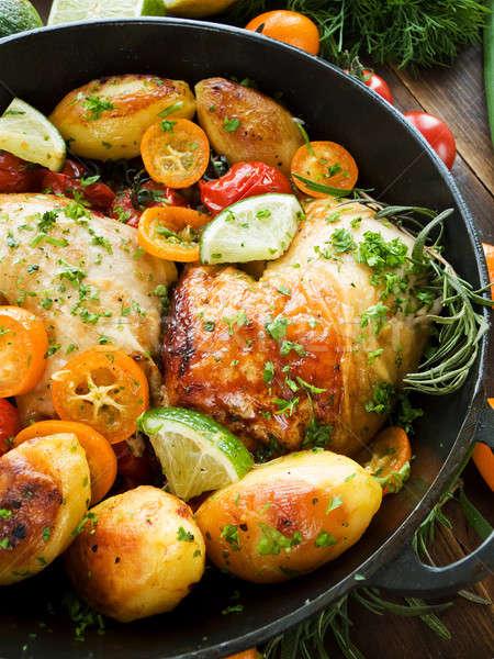 Dinner Stock photo © AGfoto