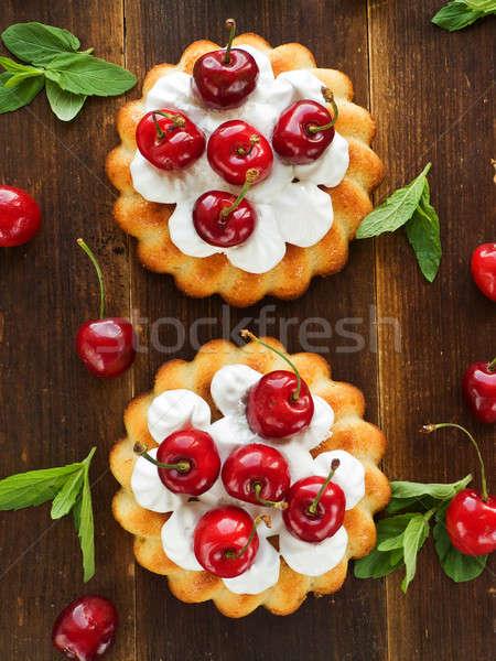Cakes Stock photo © AGfoto