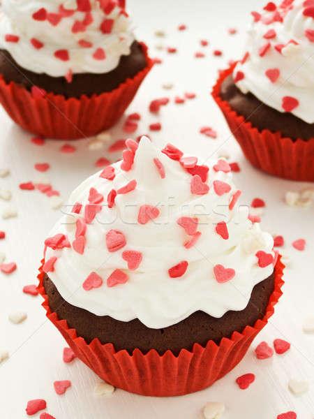 çikolata sevgililer günü sığ gıda Stok fotoğraf © AGfoto