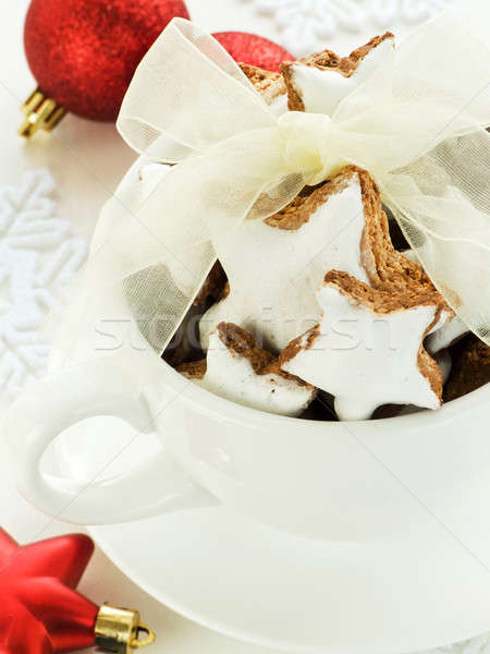 Zimtsterne Stock photo © AGfoto