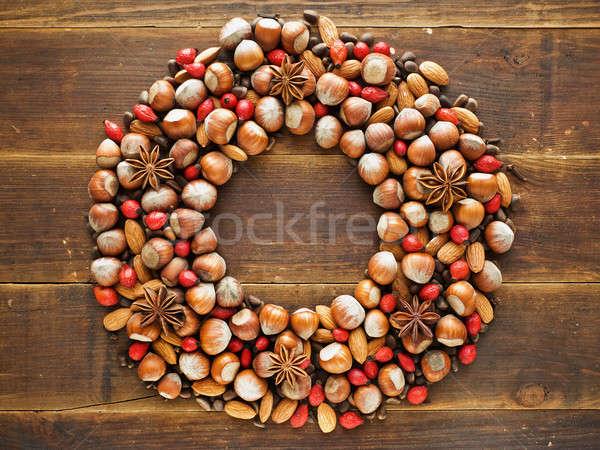 Christmas wreath Stock photo © AGfoto