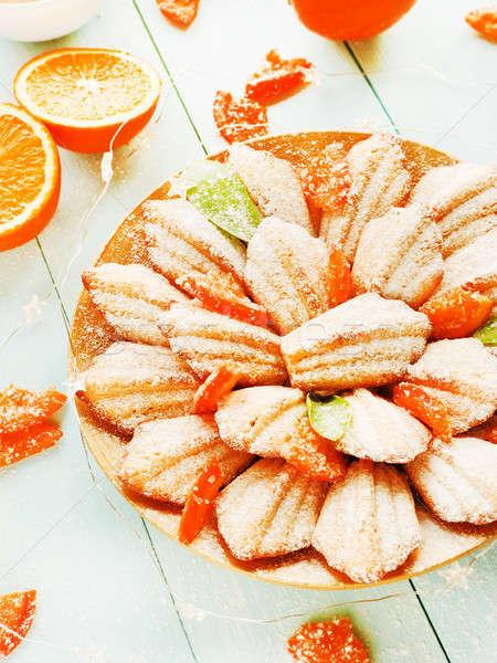 French dessert Madeleines Stock photo © AGfoto
