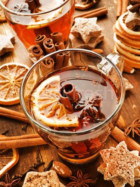 Winter drink Stock photo © AGfoto