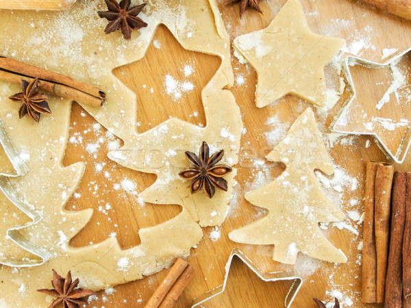Stock photo: Christmas baking