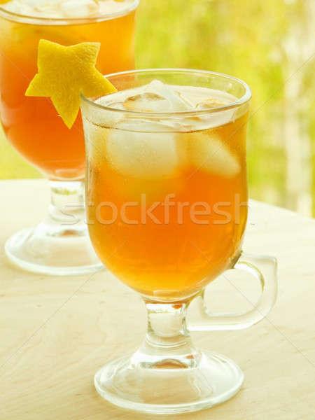 Ice tea Stock photo © AGfoto
