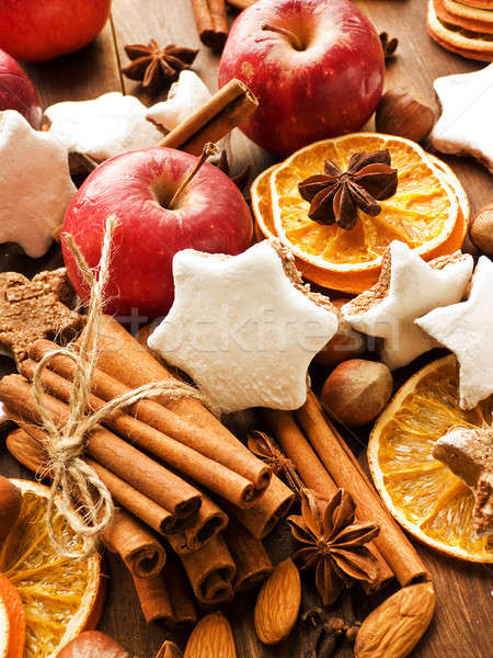 Christmas spices Stock photo © AGfoto