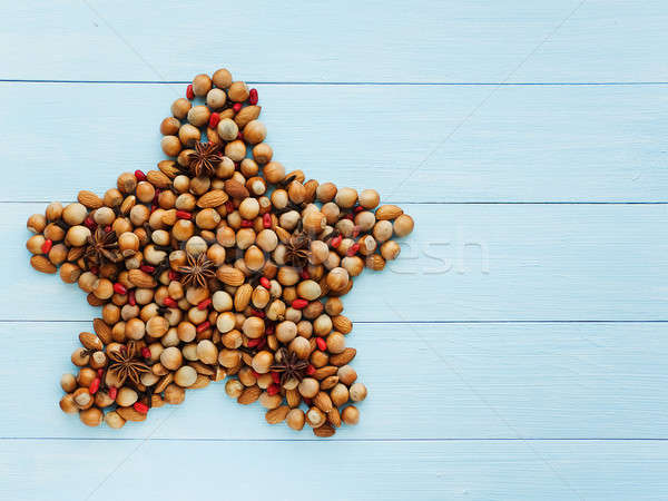 Christmas star Stock photo © AGfoto
