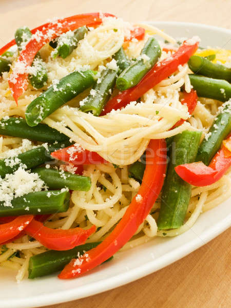 Spaghetti Stock photo © AGfoto