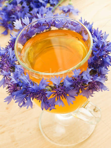 Cornflower tea Stock photo © AGfoto