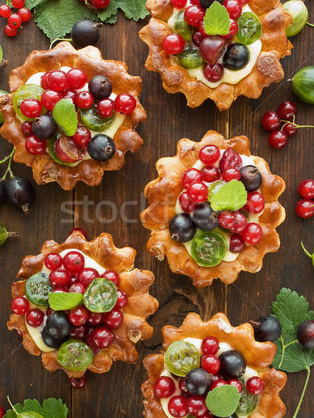 Tartlets Stock photo © AGfoto