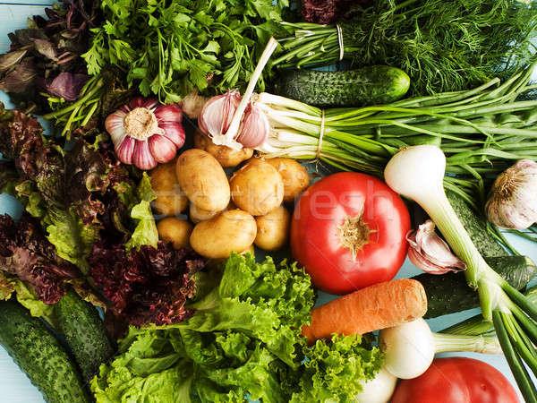 Greens and veggies Stock photo © AGfoto