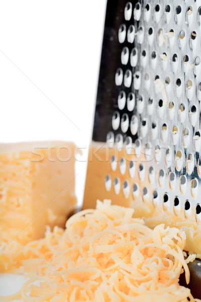 Grated cheese Stock photo © AGorohov