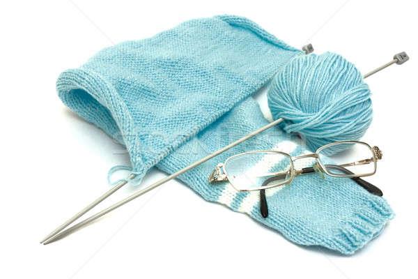 Knitting Stock photo © AGorohov