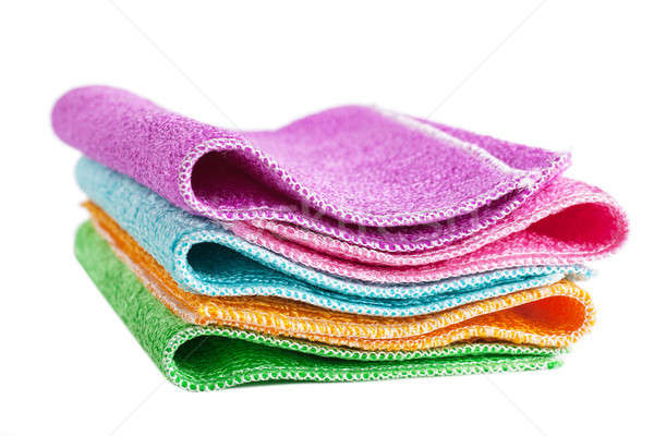Cleaning rags Stock photo © AGorohov
