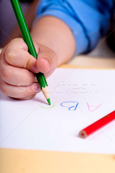 Stock photo: Writing