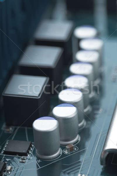 Electronic circuit board Stock photo © AGorohov