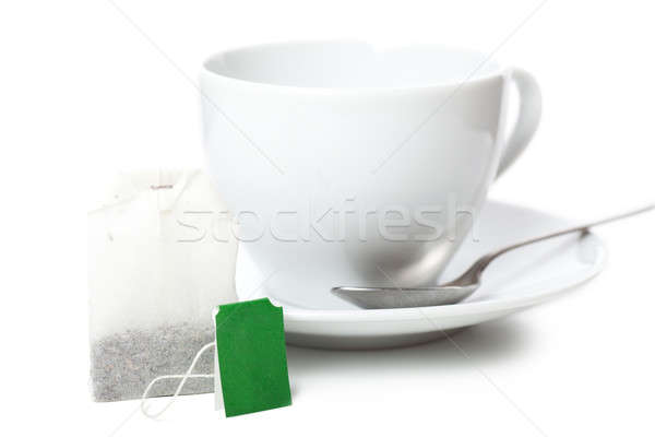 White cup Stock photo © AGorohov