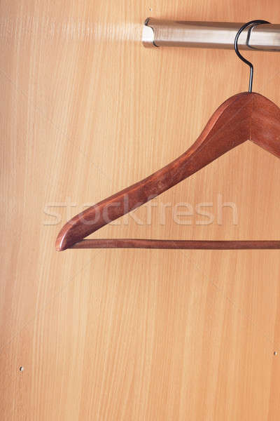 Clothes hanger Stock photo © AGorohov