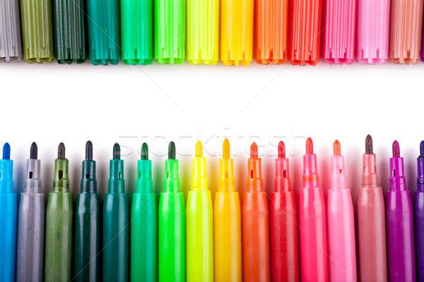 Felt tip pens Stock photo © AGorohov