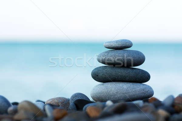 камней морем здоровья красоту рок Сток-фото © AGorohov