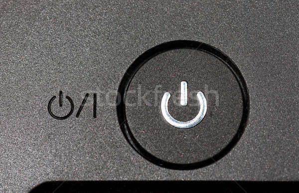 Power button Stock photo © AGorohov