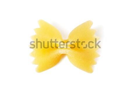 Macaroni gedroogd boeg Stockfoto © AGorohov