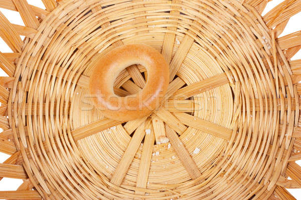 Dernier une corbeille à pain alimentaire pain or Photo stock © AGorohov