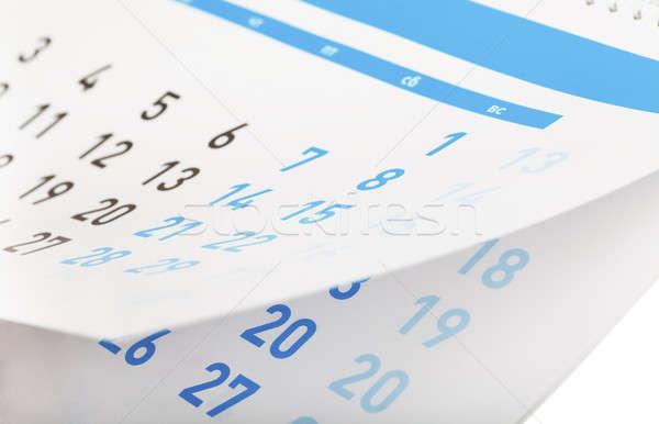 Calendar Stock photo © AGorohov
