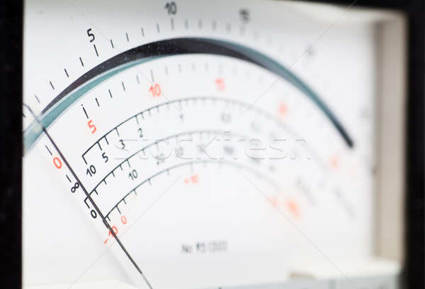 Electric meter Stock photo © AGorohov