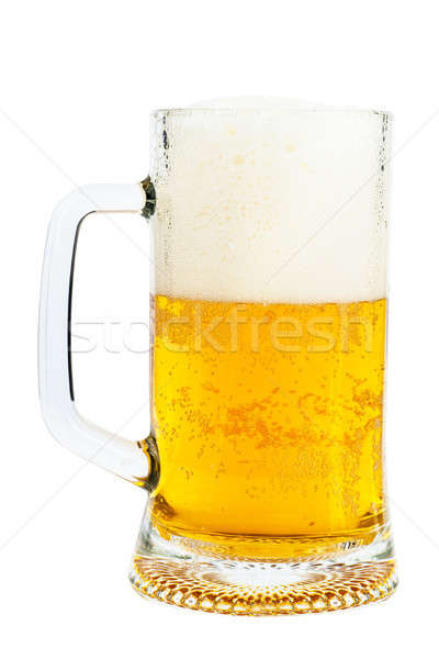 Beer in a glass Stock photo © AGorohov