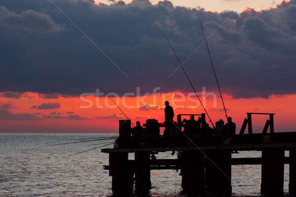 Fishermans Stock photo © AGorohov