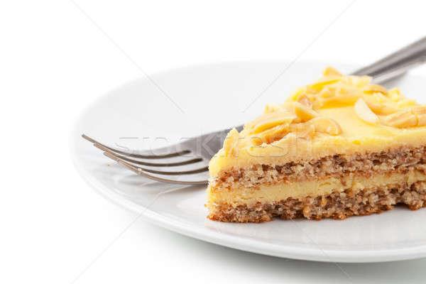 Stock foto: Stück · Kuchen · Ansicht · süß · pie