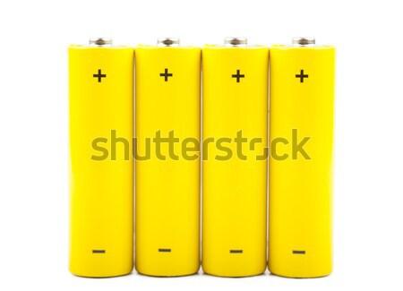 Batteries Stock photo © AGorohov