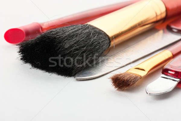 Stock foto: Make-up · Werkzeuge · Ansicht · Nagel · Datei