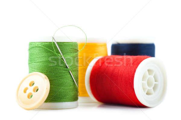 Fil quatre vert rouge jaune bleu Photo stock © AGorohov