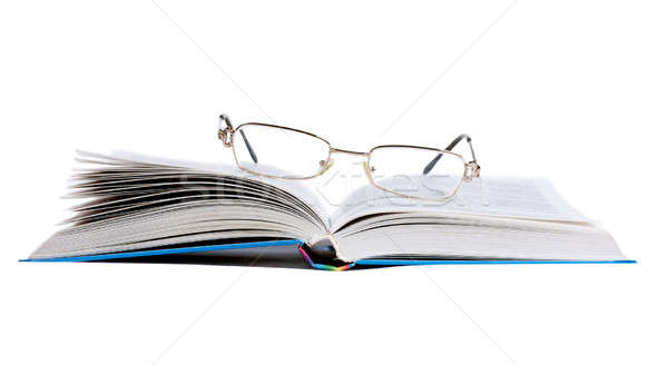Book and glasses Stock photo © AGorohov