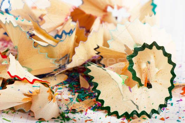 Pencil peels Stock photo © AGorohov