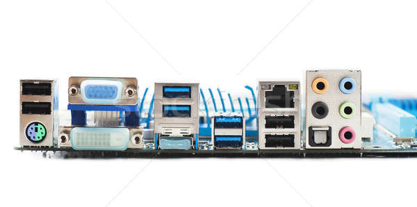 Motherboard ports Stock photo © AGorohov