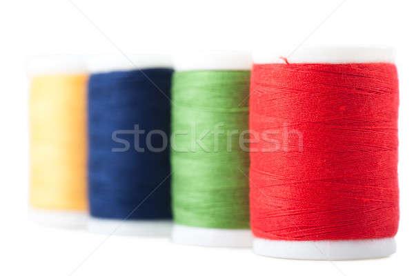 Hilo cuatro verde rojo azul amarillo Foto stock © AGorohov