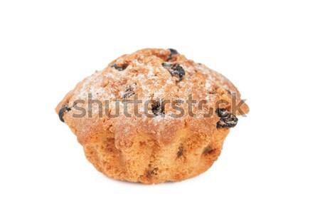 Stockfoto: Cake · rozijnen · witte · brood
